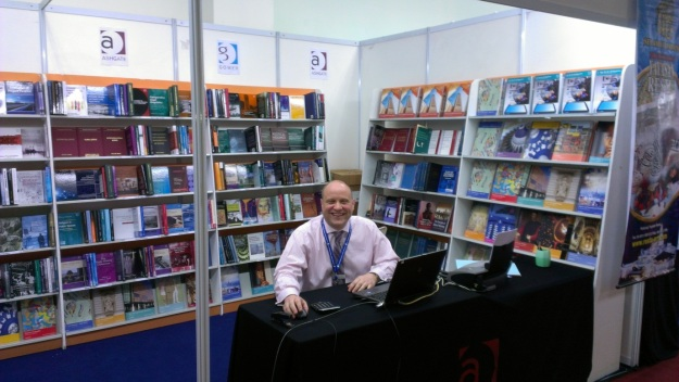 Richard at the KL Book Fair 2013