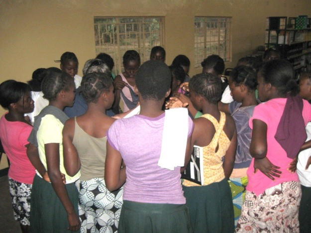 Mfuwe Secondary School Girls' Club