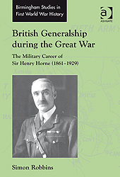 British generalship during the great war
